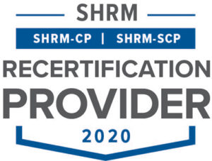 SHRM certified provider