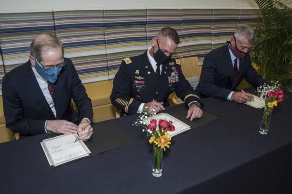 US Army ExecEd memo of understanding